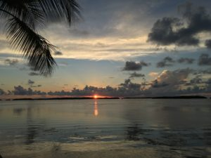 Sunset from a restaurant in one of the Keys.  Click pic to embiggen.